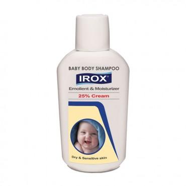 شامپو بدن بچه نرم کننده و مرطوب کننده کرمی ایروکس 200 گرم