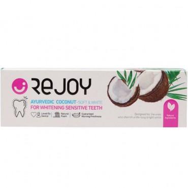 خمیردندان سفید کننده عصاره نارگیل ریجوی 100 گرم