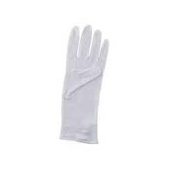 دستکش نخی سفید - یک جفت