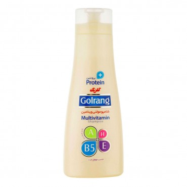 شامپو مولتی ویتامین + پروتئین مخصوص موهای چرب گلرنگ 400 گرم