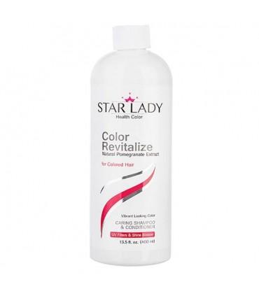 شامپو موی سر مناسب موهای رنگ شده عصاره انار استار لیدی 400 میل