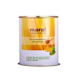 موم وکس کنسروی موم زنبور عسل برای موهای نرمال مارال 700 گرمی