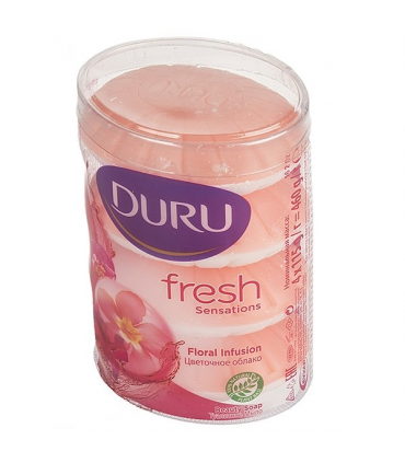 صابون صدفی 4 عددی رایحه گل Floral Fresh دورو