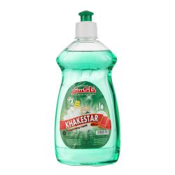 مایع ظرفشویی 500 گرمی سبز رنگ خاکستر