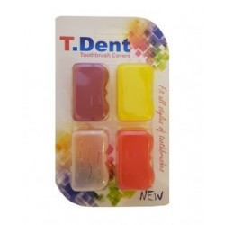 درپوش مسواک 4 عددی T.Dent