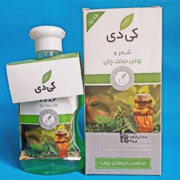 شامپو روغن درخت چای کی دی