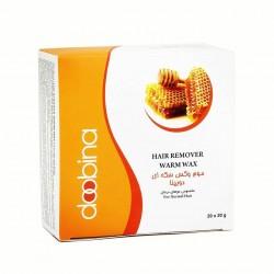 موم وکس سکه ای عسل مخصوص موهای نرمال دوبینا 20 عددی
