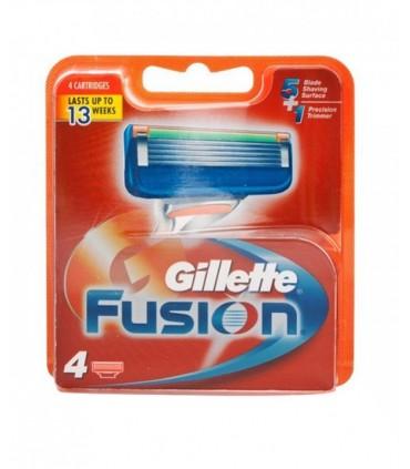 تیغ یدک 4 عددی Fusion ژیلت