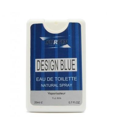 عطر جیبی مردانه مدل Design Blue سورفین 20 میل