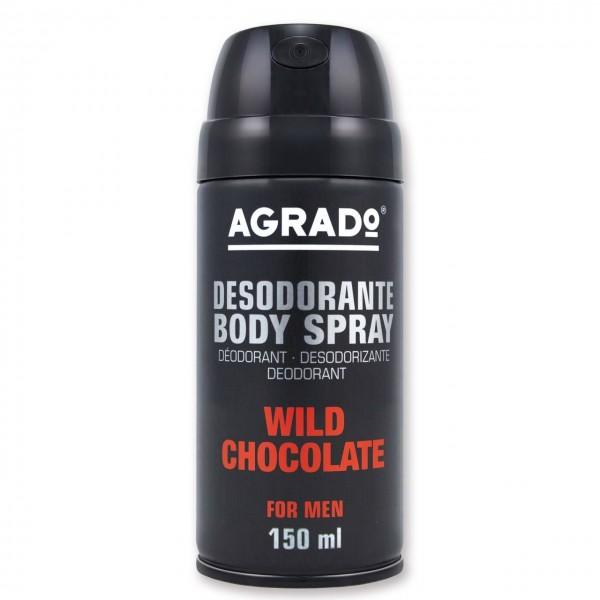 اسپری خوشبو کننده بدن مردانه مدل Wild Chocolate آگرادو