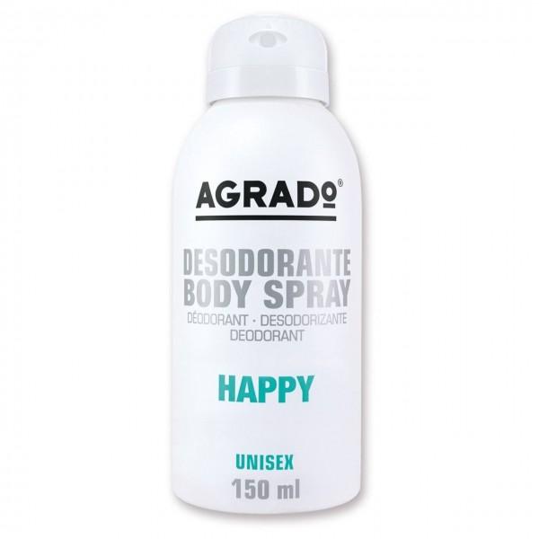 اسپری خوشبو کننده بدن مدل Happy آگرادو