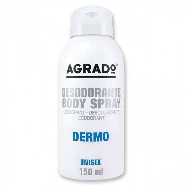 اسپری خوشبو کننده بدن مدل Dermo آگرادو