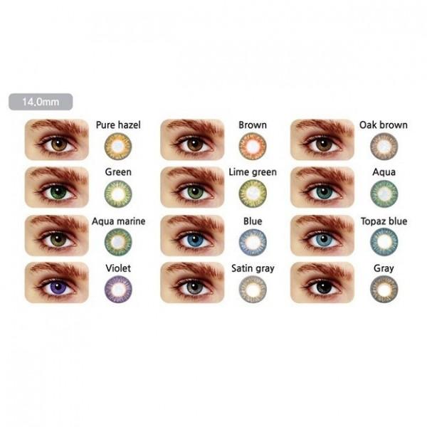 لنز چشم دائمی توتی