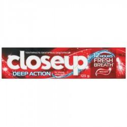 خمیر دندان Deep Action Red Hot قرمز کلوز آپ 125گرم