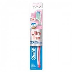 مسواک با برس خیلی نرم سری UltraThin مدل Pro Gum Care اورال بی