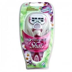 خودتراش Shai زنانه 3+3 لبه دورکو بسته 1 عددی همراه با یدک