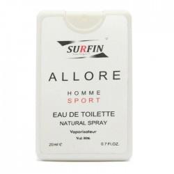 عطر جیبی مردانه مدل Allore Homme Sport سورفین 20 میل