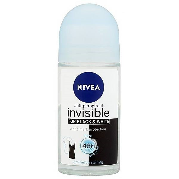 مام رول زنانه Pure Invisible for Black & White 50ml نیوا