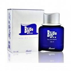 ادوتویلت مردانه مدل Blue For Men رصاصی Rasasi حجم 100 میل