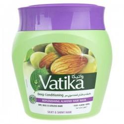 ماسک درخشان کننده موی سر مدل Replenishing Almond حاوی زیتون بادام حنا واتیکا 500 میل