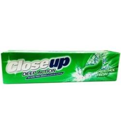 خمیر دندان Deep Action Menthol Fresh خنک کننده نعنایی کلوز آپ 125 گرم