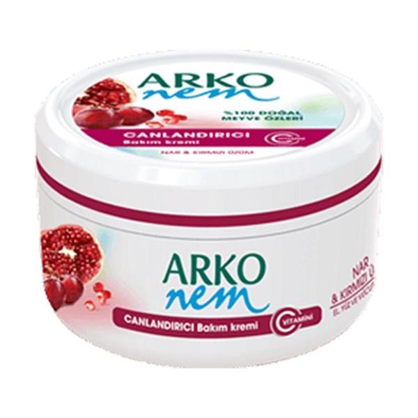 کرم مرطوب کننده میوه ای انار و انگور قرمز آرکو