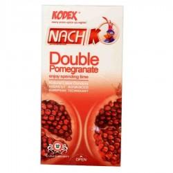 کاندوم تنگ کننده و روان کننده مدل Double Pomegranate کدکس بسته 12 عددی