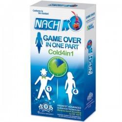 کاندوم تحریک کننده بانوان سرد مدل Game Over In One Part Cold 4 in 1 کدکس بسته 12 عددی