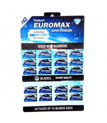 تیغ سنتی کد EMS200 یورومکس بسته 200 عددی