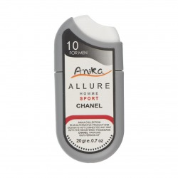 عطر جیبی مردانه طرح فندکی مدل Chanel Allure Homme Sport آنیکا 20 گرم