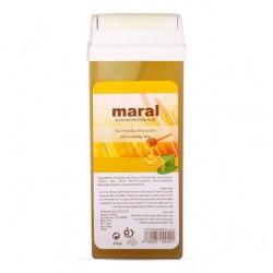 موم وکس خشابی عصاره عسل مخصوص موهای نرمال مارال 100 گرمی