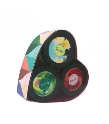 پک سه عددی مرطوب کننده مدل یاس سی گل 100×3 گرم