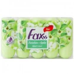 صابون آرایشی حاوی عصاره سیب Apple فکس بسته 5 عددی