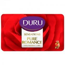 صابون آرایشی حاوی عصاره گل رز و یاقوت مدل Pure Romance دورو 90 گرمی
