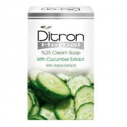 صابون کرم دار 25% حاوی عصاره خیار دیترون 125 گرم