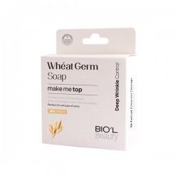 صابون کرمی پاک کننده پوست کمک به رفع چین و چروک و ترمیم کننده حاوی عصاره جوانه گندم بیول 100 گرم