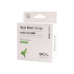 صابون کرمی پاک کننده صورت کاهش دهنده قوی آکنه و چربی پوست حاوی روغن تی تری بیول 100 گرم