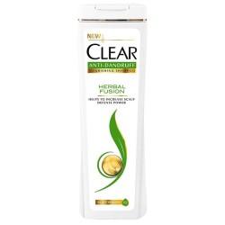 شامپو ضدشوره بانوان حاوی عصاره گیاهی مناسب تمامی موها Herbal Fusion کلیر 400 میل