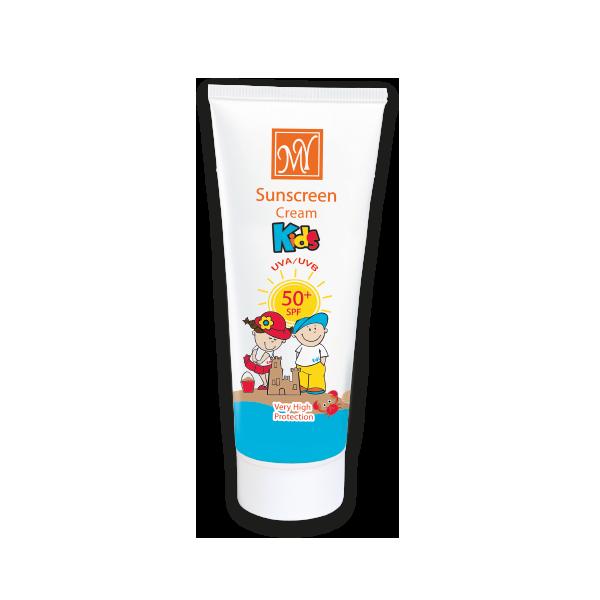 کرم ضد آفتاب کودک SPF 50 حاوی روغن جوجو با مای 75 میل