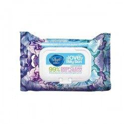دستمال مرطوب آرایشی مدل Stop ACNE مناسب انواع پوست طرح گل های آبی دافی 50 عددی