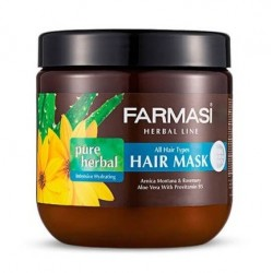 ماسک مو گیاهی مدل Pure Herbal مناسب انواع مو فارماسی 500 میل