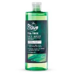 ژل شستشو صورت دکتر سی تونا عصاره درخت چای مناسب پوست چرب و آکنه ای فارماسی 225 میل