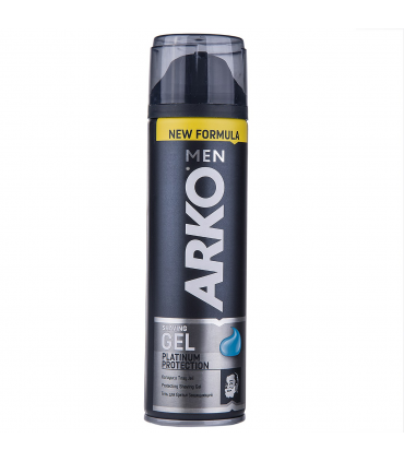 ژل اصلاح آرکو مدل Platinum Protection حجم 200میلی لیتر