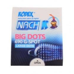 کاندوم مدل Big Dots کدکس بسته 3 عددی