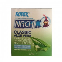 کاندوم کلاسیک ساده مدل Classic Aloe Vera کدکس بسته 3 عددی