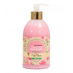 مایع دستشویی پمپی مدل پینک فلاور Pink Flower شون 500 میل