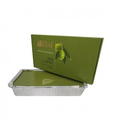 موم اپیلاسیون قالبی عصاره زیتون Olive کواف پروفشنال 500 گرم