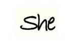 شی   she