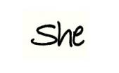 شی | she